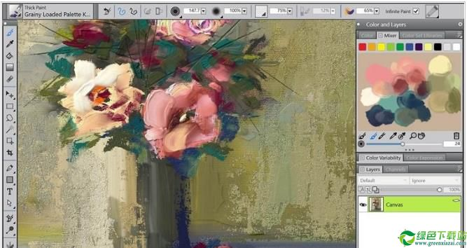Corel Painter 2018 64位中文汉化吧版Corel Painter 2018 64位中文汉化吧版(1)